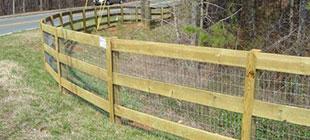 Wood Fences – Basic